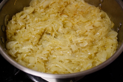 caramelized onion dip-cooking 3